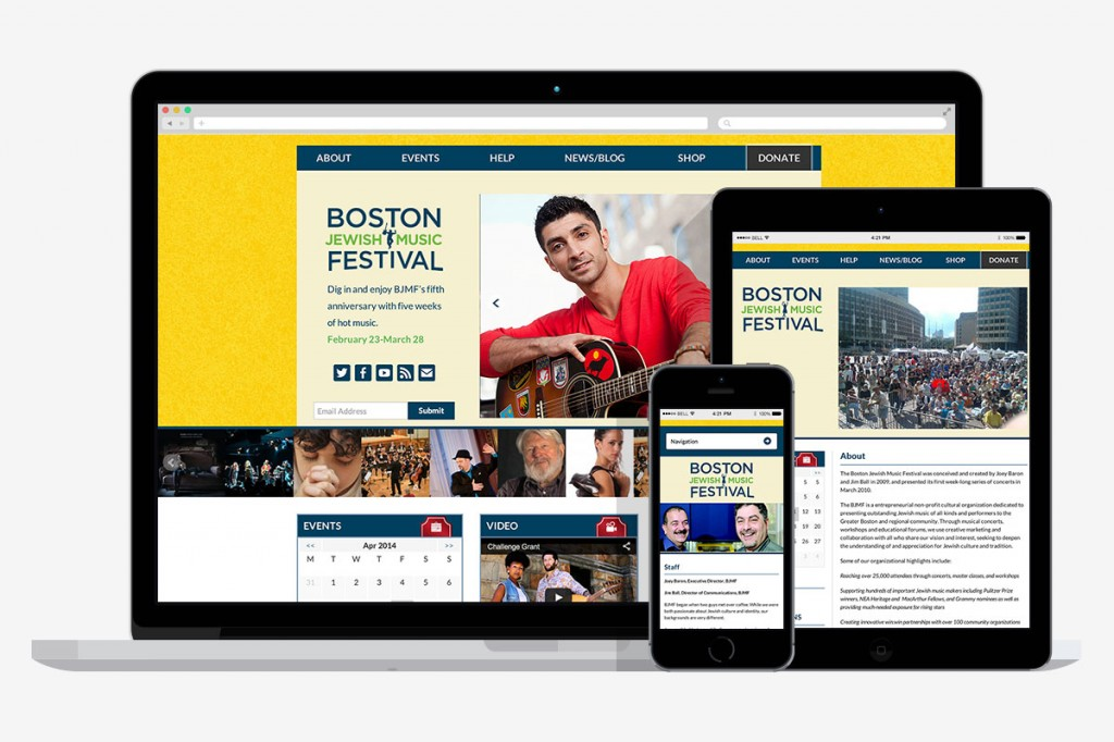 boston jewish music festival screenshots